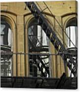 Fire Escape On Franklin Street Canvas Print