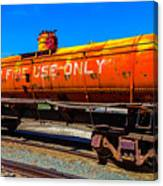 Fire Fighting Tanker Canvas Print