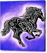 Fire Horse 2 Canvas Print