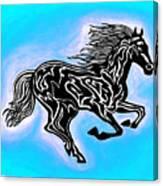 Fire Horse 5 Canvas Print