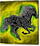 Fire Horse Neona 5 Canvas Print