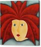 Fire Inside Me  Canvas Print