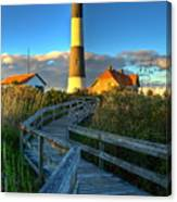 Fire Island Lighthouse Before Sunset Canvas Print
