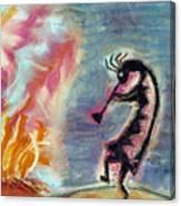 Fire Light Canvas Print