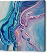 Fire Moon Dance Canvas Print