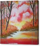 Fire Of God Canvas Print