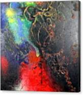 Fire Of Passion Canvas Print
