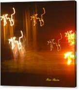 Fire Rain Canvas Print