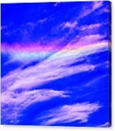 Fire Rainbow Canvas Print