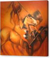 Fire Riders Canvas Print