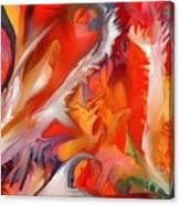 Fire Storm Canvas Print