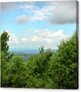 Fire Tower View - Pipestem State Park Canvas Print