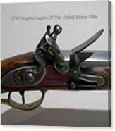 Firearms 1792 Virginia Legion Of The United States Rifle Canvas Print