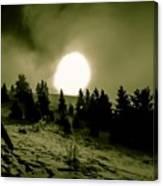 Fireball Ascension Canvas Print