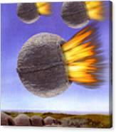 Fireballs Canvas Print