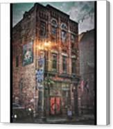 Firebird Tavern Canvas Print