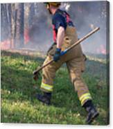 Firefighter 2901 Canvas Print
