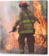 Firefighter 967 Canvas Print