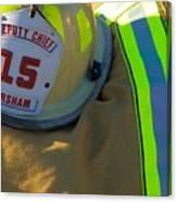 Firefighter Still Life Canvas Print