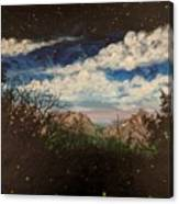 Fireflies At Dusk Canvas Print