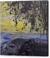 Fireflies Nocturne Canvas Print