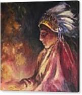 Firehandler Canvas Print