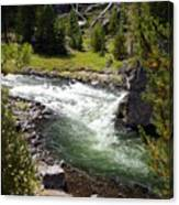 Firehole Canyon 2 Canvas Print