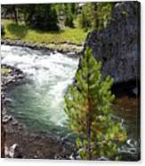 Firehole Fin Canvas Print