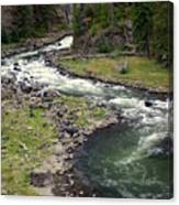 Firehole River 2 Canvas Print