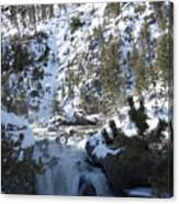 Firehole River Falls Canvas Print
