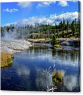 Firehole River Yellowstone Canvas Print