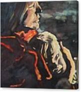 Firelight Comfort Canvas Print