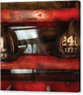 Fireman - A Salute To The Firefighter Canvas Print