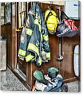Fireman - Always Ready Canvas Print