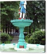 Firemans Monument  Owego New York Canvas Print