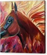 Firestalker Canvas Print