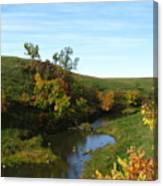 Firesteel Creek Autumn Canvas Print