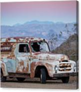 Firestone Truck Canvas Print