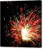 Firework Christmas Sparkle Canvas Print
