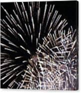 Firework Within Fireworks Canvas Print