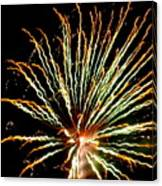 Firework Yellow Tip Canvas Print