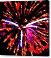Fireworks 102 Canvas Print