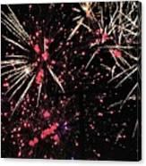 Fireworks 2018 Canvas Print