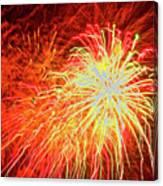 Fireworks 6 Canvas Print