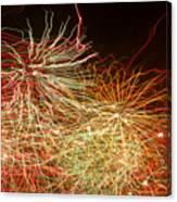 Fireworks Abstract IIi Canvas Print