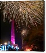 Fireworks At Maspalomas 1 Canvas Print