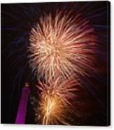 Fireworks At Maspalomas 2  Canvas Print