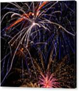 Fireworks Celebration  Canvas Print