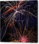 Fireworks Celebration  Canvas Print