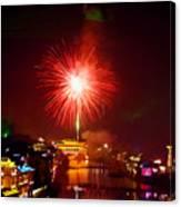 Fireworks In Phoenix Canvas Print